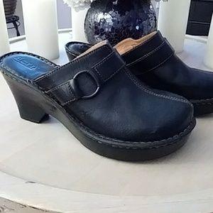 Black Born mules/clogs